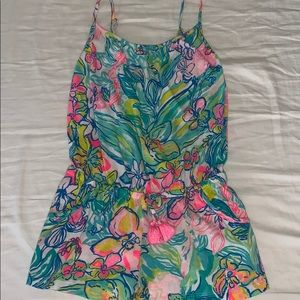 Lily Pulitzer girls romper! Size s (4-5)